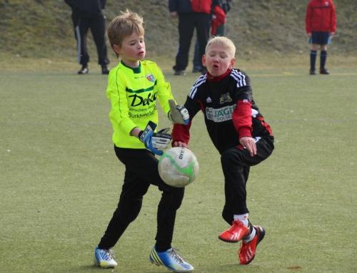 Fußballnachwuchs des PFV im Freundschaftsvergleich mit polnischen Gästen