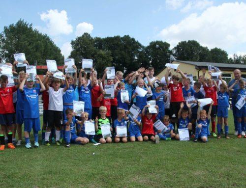 Ferienfußballcamp auch im Jubiläumsjahr des Pasewalker FV