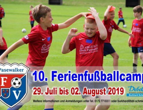 10. Fußballferiencamp des Pasewalker FV